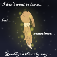 Sometimes goodbye's the only way by pichisi