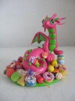 Candy Keeper Dragon by assassin-kitty