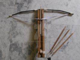 HOMEMADE CROSSBOW by REROHAN