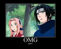 Sasuke and Sakura-OMG by AmericanKunoichi