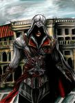 Ezio Auditore by SassySas-777