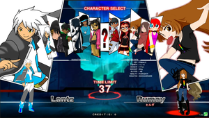 Ideal oc fighting game roster by RatsuTerra48