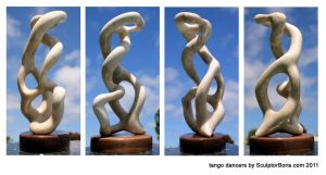 tango dancers 2011 by SculptorBoris