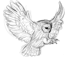Owls heal artblocks, apparently by Deestracted