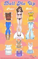 Doll Me Up: paper doll fashion by artchica83