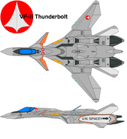 VF-11 Thunderbolt by bagera3005