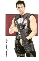 The Punisher by NORVANDELL