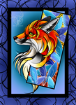 Fox Card Thingy by Missjackdaw