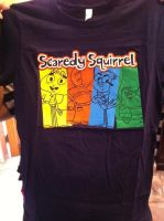 My Scaredy squirrel t-shirt by goingunder9