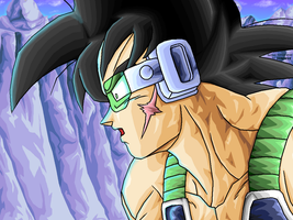 Bardock -WT- REMASTERED by JJJawor