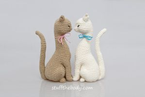 Cat Princess Amigurumi Pattern by Stuffthebody