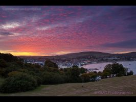 Sunset over Swanage by GMCPhotographics