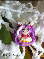 Sailor Minimoon - Chibiusa - Polymer Clay - by DarkettinaMarienne