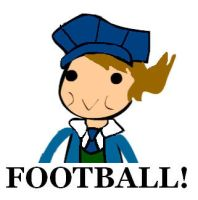 Clive loves FOOTBALL by kenabe