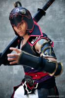 Zhou Tai Cosplay, Mikus in the Mist by JFamily