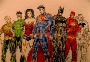 Justice League by Tedi1302