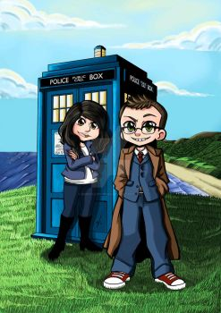 Dr Who Cosplay Commission by Dunya-lun-chan