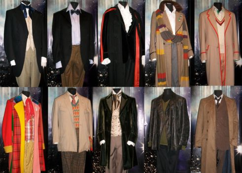 DW Costumes 1963-2010 by ChinquixWolf