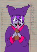 Chocolate Monster Recolored by Kyuubichowderfan