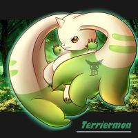 Terriermon ( one of the most cutiest digimon ) by MinhPuPu