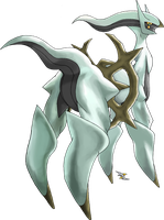 Arceus Rock Type by Xous54