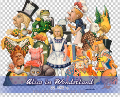 Alice in Wonderland PNGs by Bellacrix