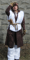 ARCTIC EXPEDITION: Yeti Pelt Vest by grg-costuming