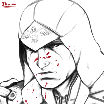 Connor Kenway by Johnni-Kun