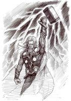 Thor by ojerry