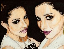The Veronicas by Shigdioxin