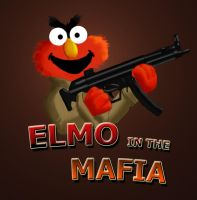 Elmo in the Mafia by aragornbird