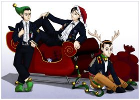 Merry Daas-mas by RadiantGlyph