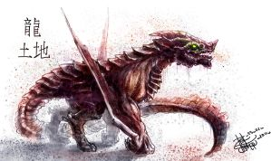 _DragoN_OF_EartH_ by Real-Janifer