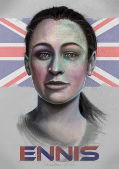 Jessica Ennis by GDSWorld