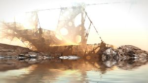 Wreck of the Vesper by HalTenny