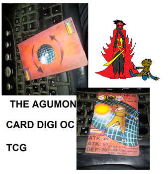 Card Digimon My The Agumon by nikmanD