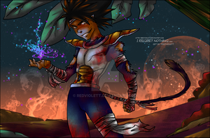 DBZ - I regret nothing - Planet Xyst - Part 2 by RedViolett