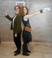 River Song cosplay - Oh, eight for you, honey by ArwendeLuhtiene