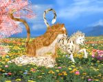 Family in springtime by Maeix2