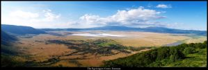 The Ngorongoro Crater by EvilSaku