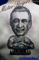 Sleeved Fred Rogers by EvilLittleBlue