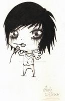 Andy Six chibi by Karolina5n