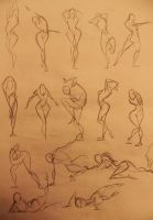 Life Drawing 30sec by marvelmania