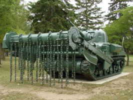 Mine clearing Tank by asaph70