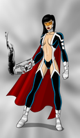 Phantom Lady Redesign by payno0