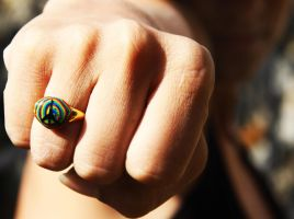 peace punch ring by kooohla