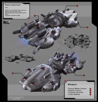Heavy Cruiser Hurst by KaranaK