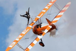 The Breitling Wingwalkers by Daniel-Wales-Images