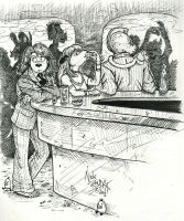 In A Dirty Bar by Phraggle