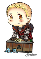 Chibi Cullen - Dragon Age : Inquisition by Evolvana